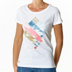 Tee-shirt Femme Blue Hope
