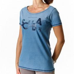 Tee-shirt Femme Indigo Scuba