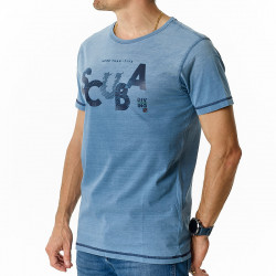 Tee-shirt Homme Indigo Scuba