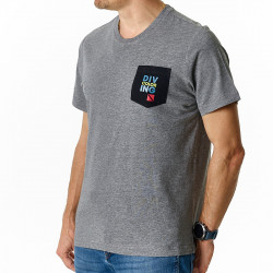 Tee-shirt Homme contrasté DC